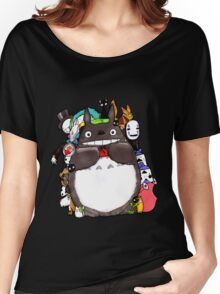 Mix Totoro Women's Relaxed Fit T-Shirt