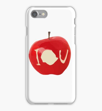 bbc sherlock IOU apple iPhone Case/Skin