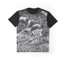"""Le Massacre"" (B&W) Graphic T-Shirt"