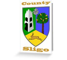 County Sligo Coat of Arms Greeting Card