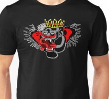 Chest tattoo on black Unisex T-Shirt