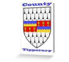 County Tipperary Coat of Arms Greeting Card