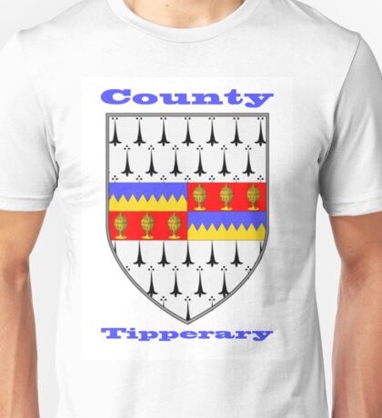 County Tipperary Coat of Arms Unisex T-Shirt