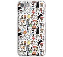 Background Totoro iPhone Case/Skin