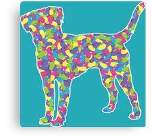 Labrador Retriever, Easter Jellybean Canvas Print