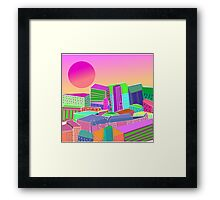 bubblegum utopia  Framed Print