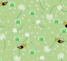 Honey Bees Flying Sticker