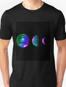 Colorful Moon Phases T-Shirt