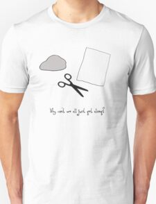 Why can't we all just get along Unisex T-Shirt