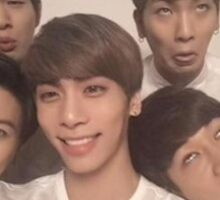 SHINee derp Sticker