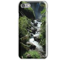 Whitewater Rapids at the Peguche Falls iPhone Case/Skin