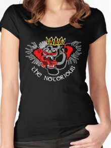 Notorious Gorilla! Women's Fitted Scoop T-Shirt