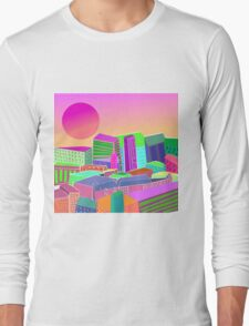 bubblegum utopia  Long Sleeve T-Shirt
