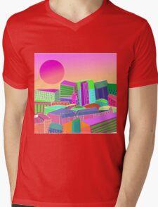 bubblegum utopia  Mens V-Neck T-Shirt