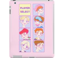 Monsta X CHARACTER SELECT VERSION  iPad Case/Skin