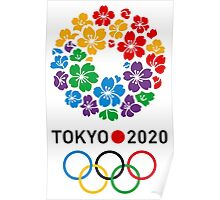 Tokyo 2020 Olympics best logo Poster