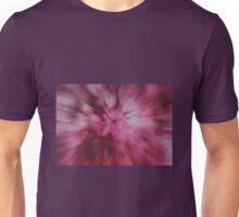 Pink Radial Zoom Unisex T-Shirt