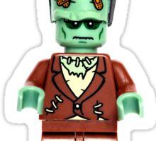 Happy Halloween Lego Frankenstein Sticker