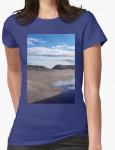 lossiemouth Beach Womens Fitted T-Shirt