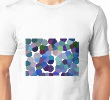 Large Blue Pollen Unisex T-Shirt
