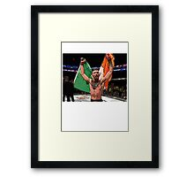 FAN ART - Conor McGregor UFC Champ Framed Print