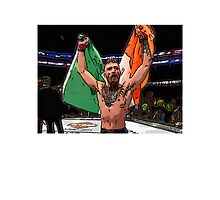 FAN ART - Conor McGregor UFC Champ Photographic Print