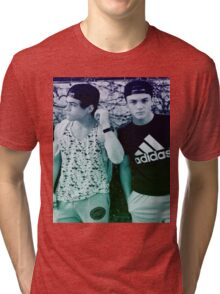 Dolan twins ombre Tri-blend T-Shirt
