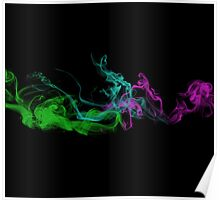 Crazy Cool Vape - Abstract Clouds  Poster