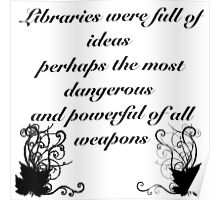 Libraries Poster
