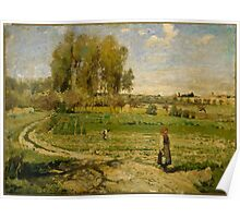 Camille Pissarro - Giverny French Impressionism Landscape Poster
