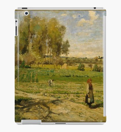 Camille Pissarro - Giverny French Impressionism Landscape iPad Case/Skin