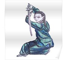 Martial Arts Lady 3 Poster