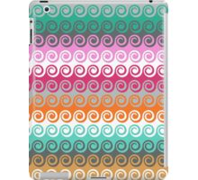 Waves colorful pattern iPad Case/Skin