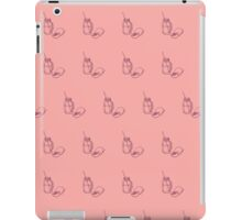 Illustration of drinking jar iPad Case/Skin