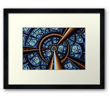 Central Vanishing Point No. 6 Framed Print