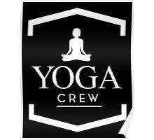 Yoga Crew Poster