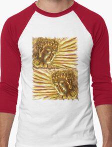 Golden Radiant Buddha Men's Baseball ¾ T-Shirt