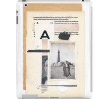 A tenuous affair of emotional solitude iPad Case/Skin