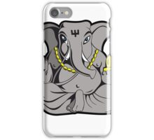 ganesha in colour iPhone Case/Skin