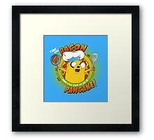 BACON PANCAKE SONG! Framed Print