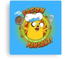 BACON PANCAKE SONG! Canvas Print