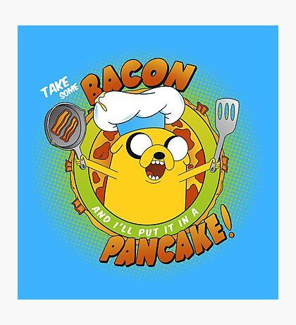 BACON PANCAKE SONG! Photographic Print