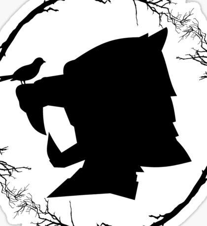 Hound's Helm Sticker