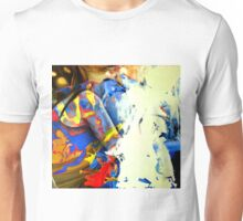Crumbling to pieces, 2015, 100-100cm, oil on canvas Unisex T-Shirt