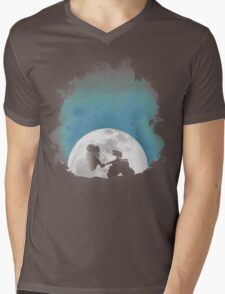 Space Love Mens V-Neck T-Shirt