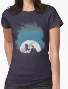 Space Love Womens Fitted T-Shirt