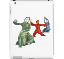 3 Female Martial Artists iPad Case/Skin