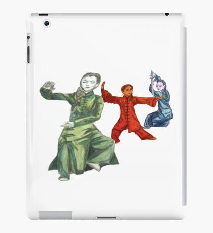 3 Female Martial Artists iPad Case/Skin