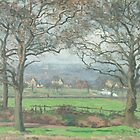 Camille Pissarro - Near Sydenham Hill 1871 by famousartworks