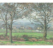 Camille Pissarro - Near Sydenham Hill 1871 Photographic Print